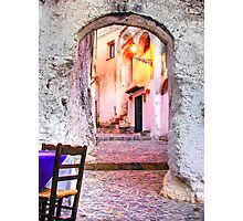 Old Calabria Photographic Print