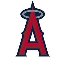 los angeles angels Photographic Print