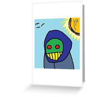 """Zombie Peasant Woman"" by Richard F. Yates Greeting Card"