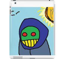 """Zombie Peasant Woman"" by Richard F. Yates iPad Case/Skin"