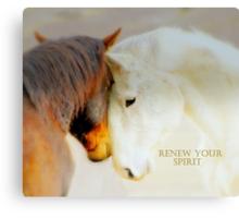 RENEW  YOUR  SPIRIT  Canvas Print