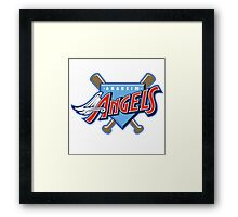 los angeles angels Framed Print