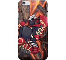 Groudon: Legendary Pokemon iPhone Case/Skin