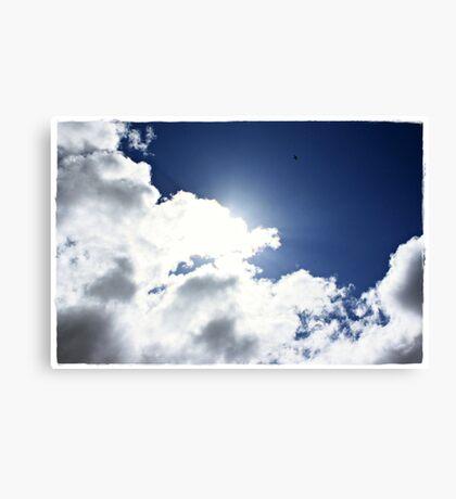 High as a Kite, freedom through flight Canvas Print