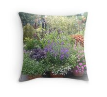 Flowers, Flowers, Everywhere Throw Pillow