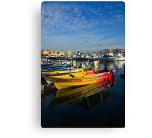 Mexican Boats Canvas Print