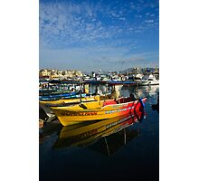 Mexican Boats Photographic Print