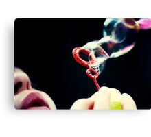 not so red bubble Canvas Print