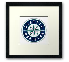 seattle mariners Framed Print