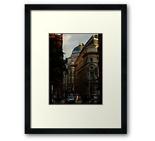 Shortcut in Piccadilly Circus Framed Print
