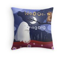 The way of the ghost ... Throw Pillow