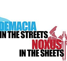 Demacia in the Streets by Rebecca Chapman