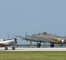 Two WWII Aircraft by Karl R. Martin