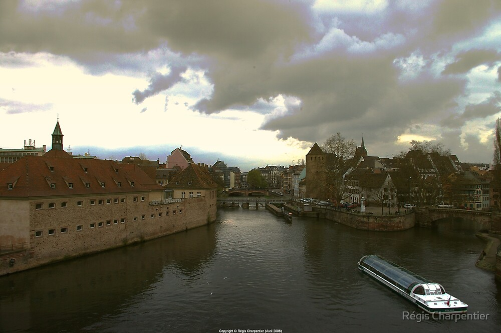 View from Strasbourg by Régis Charpentier