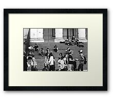 Just another Thursday afternoon Framed Print