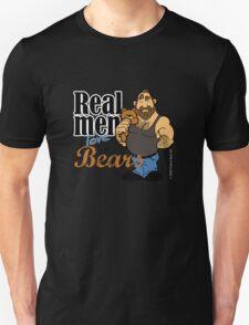 Real Men Love Bears Unisex T-Shirt