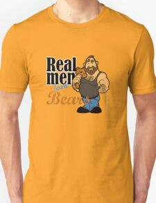 Real Men Love Bears T-Shirt