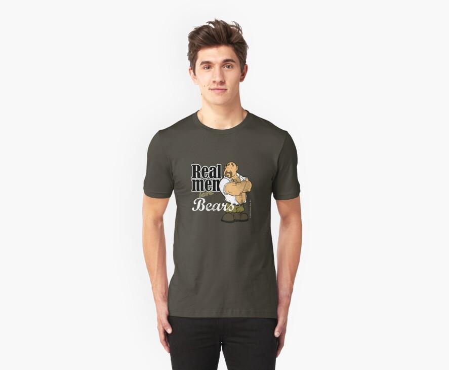 Real Men Love Bears - Military by Dubon