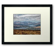 The Great Glen Scotland Framed Print