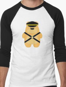 Bear Toy - Leather Blond Men's Baseball ¾ T-Shirt