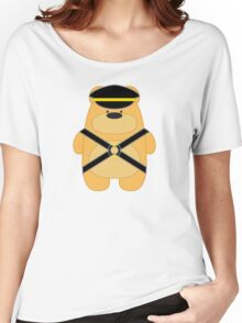 Bear Toy - Leather Blond Women's Relaxed Fit T-Shirt
