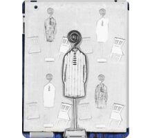 Chair and Figure Abstract iPad Case/Skin