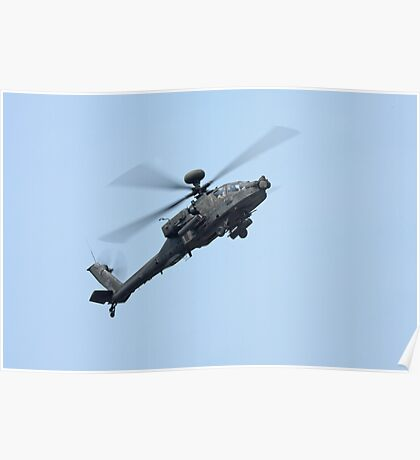 Apache Longbow Helicopter Poster