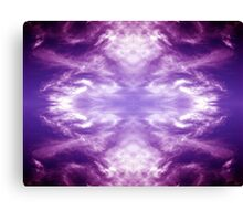 Clouds Transformed Canvas Print