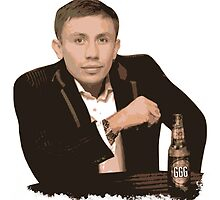 Gennady Golovkin - The Most Interesting Man in the World by liam175