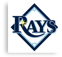 tampa bay rays Canvas Print