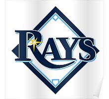 tampa bay rays Poster