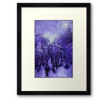 Winter Magic Festival Katoomba 09 Framed Print