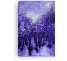 Winter Magic Festival Katoomba 09 Canvas Print