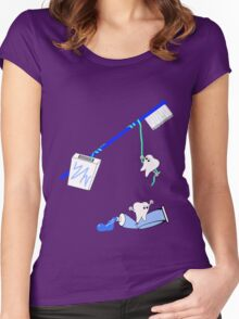 Escape from the Tooth Fairy Women's Fitted Scoop T-Shirt
