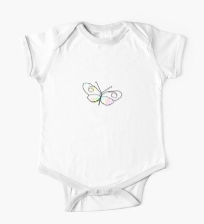 Wire Butterfly One Piece - Short Sleeve
