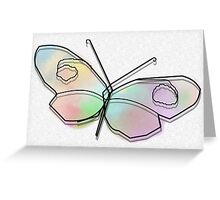 Wire Butterfly Greeting Card
