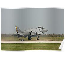 US Marine Harrier Poster