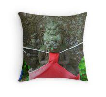 Jizo Throw Pillow