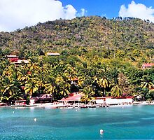 Location Beach in St. Lucia by MarianBendeth