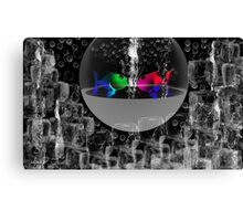 the sound of silence -Art + Products Design  Canvas Print