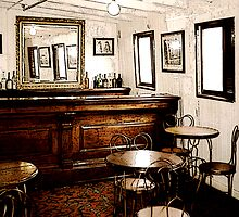 Ticonderoga Saloon by Ginny Schmidt