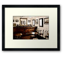 Ticonderoga Saloon Framed Print