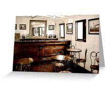 Ticonderoga Saloon Greeting Card