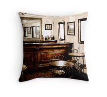 Ticonderoga Saloon Throw Pillow