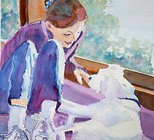 Good Morning Puppy by JennyArmitage