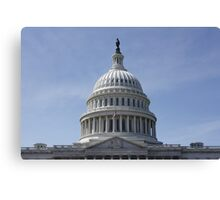 The US Capital Building Canvas Print