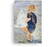 Fountain Dance Canvas Print