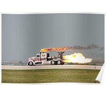 Jet Truck Poster