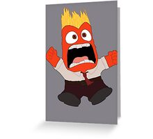 AAAAAANGER! Greeting Card