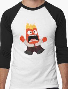 AAAAAANGER! Men's Baseball ¾ T-Shirt